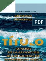 ITUATA - ANALISIS DE NORMAS DE TESORERIA