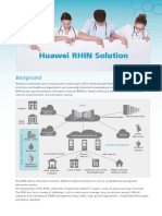 2013 Huawei RHIN Solution Brochure