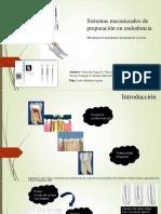 Sistema Mecanizados en Tratamiento de Endodoncia