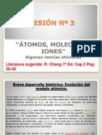 atomos, moleculas, iones