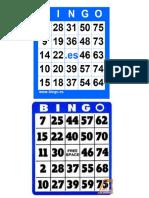 Tableros de Bingo