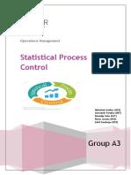 Statistical Process Control A3