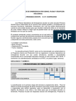 PLANES OPERATIVO DE EMERGENCIA ESCOLAR POR SISMO, FUGA Y ERUPCION VOLCANICA.docx