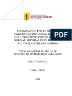 Minimizacion simplex