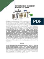Grupo de Investigación en Diseño y Materiales