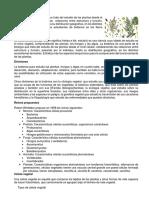 Botanica Documento