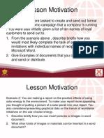 L3 Advanced Word Processing Skills