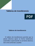 Tableros de transferencia