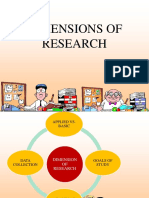 3-Dimensions of Research