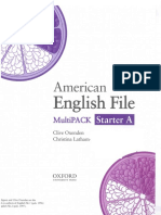 American English File Starter Multipack a
