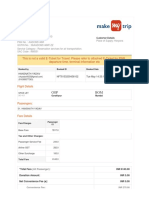 SpiceJet_E-ticket_PNR OYFIKZ - 12 May 2019 Gorakhpur-Mumbai for MR. YADAV