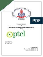 ptcl project.doc