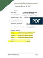 MEMORIA DE ARQUITECTURA.doc
