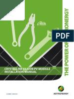 CH VH DSS SL 01_B1_Installation Manual Solar PV Module