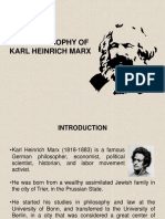 Introduction to Karl Marx