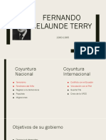 Fernando Belaunde Terry NUEVO