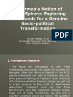 Public Sphere and Socio Political Transformation Guiguinto