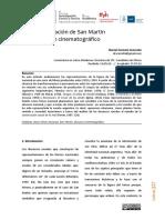 La representación de San Martín en el discurso cinematográfico