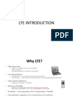 LTE INTRODUCTION1