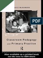 David McNamara-Classroom Pedagogy