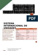 Sistema Internacional de Unidades y Sistema Ingles