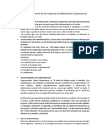 Intervenir en Programas Organizacionales