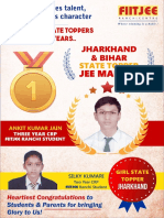 Fiitjee Ranchi Results