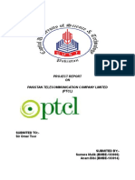 31876419 PTCL Project Strategic Management