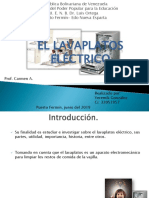 Lavaplatos Electrico