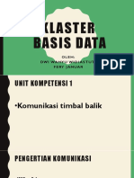 Klaster Basis Data