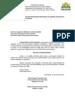 RE - MUNICÍPIO DE FEIRA GRANDE X MARIA EMANUELLE - ACIDENTE DE MOTOCICLETE - RESPONSABILIDADE CIVIL - 0000562-75.2012.8.02.0060