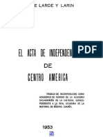 Acta de Independencia Centroamericana
