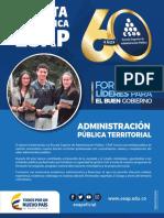 Plan de Estudios Administracion Publica Territorial 2018