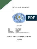 Tugas 2 Resume Akuntansi Manajemen Netty Nurbayani 2017.62.000941