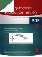 Reguladores Rapidos de Tension [Autoguardado]