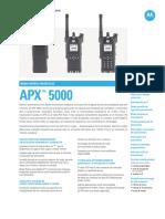 Motorola Apx 5000