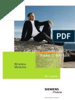 Siemens Mobile WM Image-Brochure