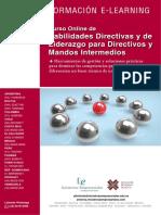Habilidades Directivas Liderazgo Directivos Mandos Intermedios