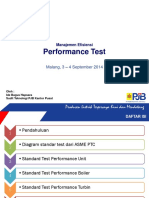 Performance Test (PT)