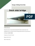 Submission 3 Bridge Deck Solution2019