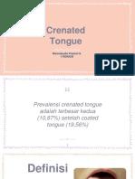 Crenated Tongue, Scallop Tongue.pptx