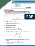 Maths Paper 2