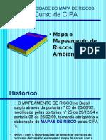 MAPA E MAPEAMENTO DE RISCOS AMBIENTAIS  -  apresentação PowerPoin