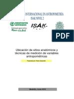 Sitios y Técnica de Medición Antropométrica Nivel 2 Isak-medellín