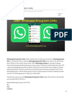 Whatsappgrouplinks.org-Whatsapp Group Join Links