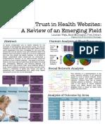 Trust in Health Websites