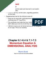 MMAN2600_Week6_Ch6.1-6.4&7.1-7.3_MomentumDimensionalAnalysis
