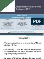 Unregulated Deposit Scheme PPT Presentation