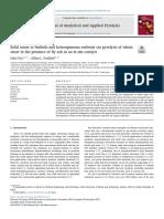 Limbah Padat Untuk Biofuel Dan Sorben Heterogen Melalui Pirolisis Jerami Gandum Di Hadapan Abu Terbang Sebagai Katalis in Situ