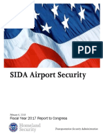 TSA - SIDA Airport Security